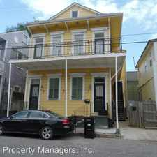 Rental info for 1106 TREME ST in the New Orleans area