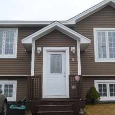 Rental info for Beautiful 2 bedroom house in Kenmount Terrace in the St. John's area