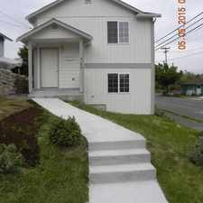 Rental info for 4166 41st Ave S in the Columbia City area