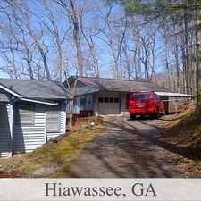 Rental info for Guesthouse For Rent In Hiawassee.
