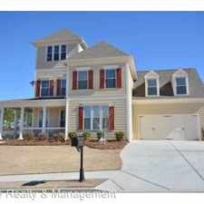 Rental info for 6382 Hickory Branch Drive