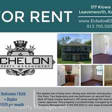 Rental info for 317 Kiowa