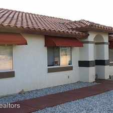 Rental info for 74036 Pinon B in the Twentynine Palms area