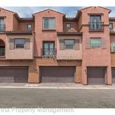Rental info for 1093 Via Prato Lane