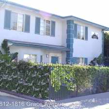 Rental info for 1812-1816 Grace Ave. in the Hollywood United area