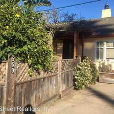 Rental info for 550 Madrone Ave