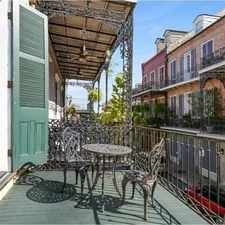 Rental info for $2100 1 bedroom Townhouse in French Quarter in the New Orleans area