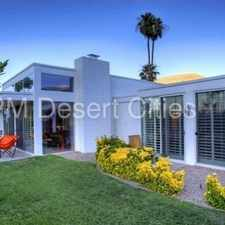 Rental info for **Coming Soon** Amazing Palm Springs Home