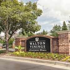 Rental info for Walton Vinings in the Atlanta area