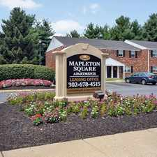 Rental info for Mapleton Square Apartment Homes