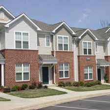 Rental info for Falls Creek Apartments & Townhomes in the Raleigh area
