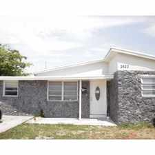 Rental info for 2623 Wiley Street in the Hollywood area