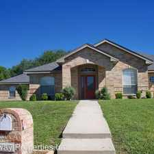 Rental info for 601 Llama in the Harker Heights area