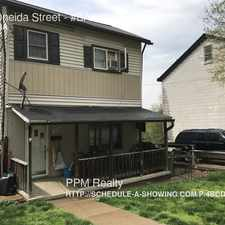 Rental info for 208 Oneida Street in the Duquesne Heights area