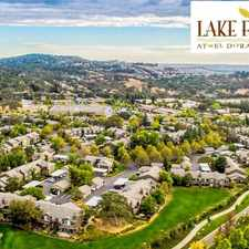 Rental info for Lake Forest at El Dorado Hills in the 95762 area