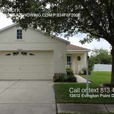 Rental info for 12612 Evington Point Drive