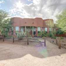 Rental info for 14831 E. Roy Rogers Rd. - Spectacular 3 Bed, 2.5 Bath Custom Home On 1+ ACRE Lot In Scottsdale! - NO HOA! Lots of Upgrades! - Dynamite & 148th. St. - CALL TODAY!