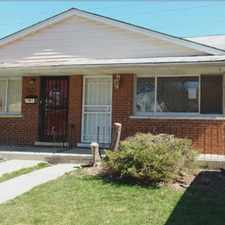 Rental info for 11567 S Peoria in the Morgan Park area