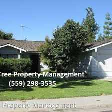 Rental info for 1145 Burlingame in the 93612 area