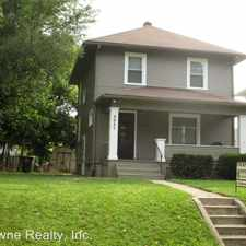 Rental info for 3517 Indiana Ave.