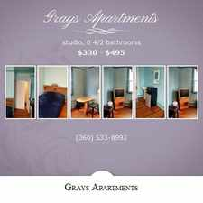 Rental info for Gray's Apartments in the Aberdeen area