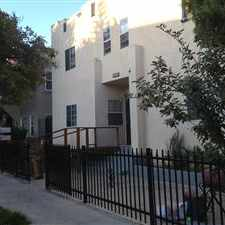 Rental info for New building 2004. Special Move-in. Very private, quiet and secured Duplex 1-bed up-stair, 1 bath, 1 living rm, kitchen, 1 garage down stair. New paint, new wood floor, new stove/range, new cabinet. Available now. in the Long Beach area