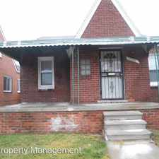 Rental info for 17221 Rowe in the Coleman A. Young International Airport area