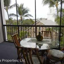 Rental info for 75-5719 Alii Drive