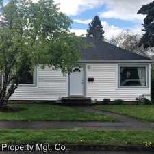 Rental info for 6835 N Tyler Ave in the Cathedral Park area