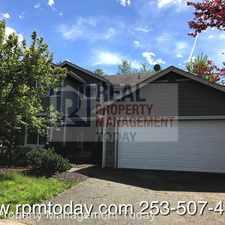 Rental info for 19524 207th St Ct E