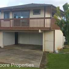 Rental info for 45- 136 William Henry Rd - William Henry in the Honolulu area