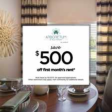 Rental info for Arboretum at Southpoint