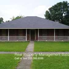 Rental info for 14837 Stoneberg Ave. in the Baton Rouge area