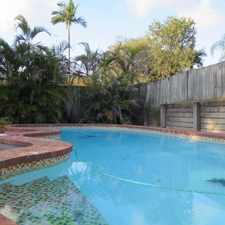 Rental info for MASSIVE 5 BEDROOM FAMILY HOME WITH POOL in the Rochedale South area