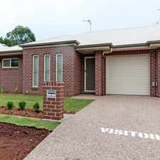 Rental info for BE QUICK TO SECURE THIS QUALITY EXECUTIVE UNIT in the Toowoomba area