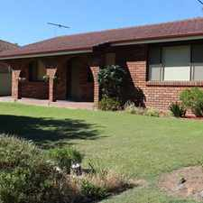Rental info for IMPECCABLE FAMILY HOME in the Cessnock area
