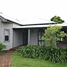 Rental info for Huge Federation home in the Taree area
