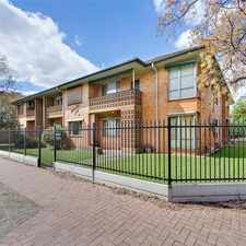 Rental info for Great Unit In A Sought After Suburb! in the Adelaide area