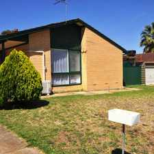 Rental info for GREAT FAMILY HOME in the Elizabeth Downs area