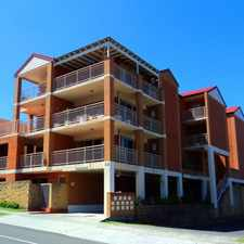 Rental info for GOOD SIZED TWO BEDROOM UNIT CLOSE TO SHOPS, AND TRANSPORT in the Corrimal area