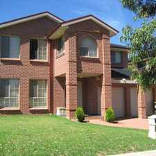 Rental info for Large 4-5 Bedroom Home- access to the pool & clubhouse.