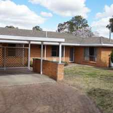 Rental info for GREAT FAMILY HOME in the Armidale area