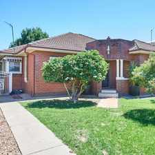 Rental info for Centrally located on a large block in the Wagga Wagga area