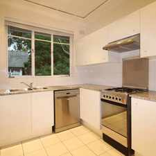 Rental info for OPEN FOR INSPECTION SATURDAY 6TH MAY TBA in the Hunters Hill area