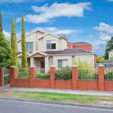 Rental info for Immaculate Lifestyle Townhouse. Walk to Amenities in the Caulfield East area