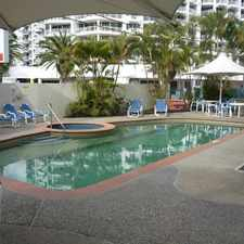 Rental info for 'ARUBA' UNFURNISHED 1 BEDROOM GROUND FLOOR UNIT in the Broadbeach area