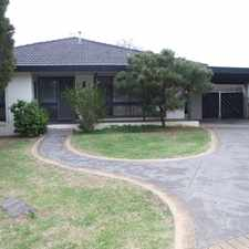 Rental info for 3 BEDROOM HOUSE - MELTON WEST in the Melton West area