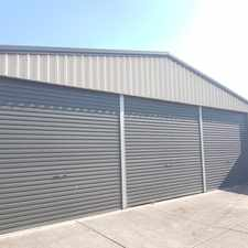 Rental info for STORAGE AVAILABLE