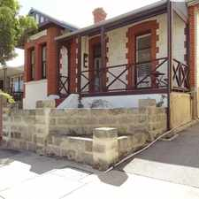 Rental info for The Merchants House Fremantle in the Perth area