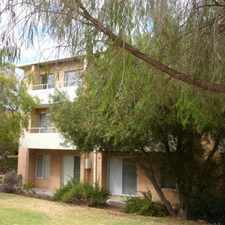 Rental info for Central Mosman Park Unit.